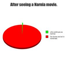 And after reading a Narnia book. Or thinking about Narnia. Narnia Movies, Narnia 3, Httyd, Prince Caspian, Harry Potter, Cs Lewis, Chronicles Of Narnia, Book Fandoms, Hilarious