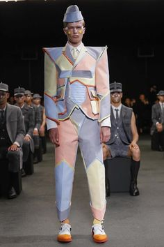 Thom Browne Menswear Spring Summer 2015 Paris