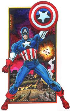 Steve Rogers CAPTAIN AMERICA by Steven Butler