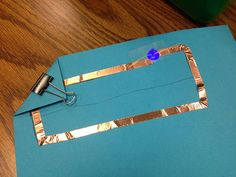 Paper circuits, modified for the classroom
