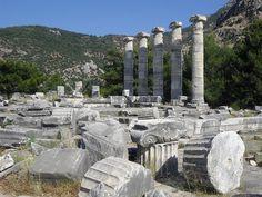 Temple of Athena Polias in Priene