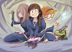 Little Witch Academia by simonori.deviantart.com on @deviantART