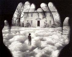A dreamy photo by Jerry Uelmann, innovator & master of composite photography BEFORE Photoshop.