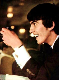 George Harrison, charming & genial <3