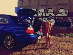 Like!  #subaru #impreza #wrx #sti #girl www.asautoparts.com