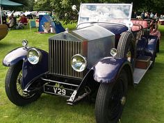 #Rolls Royce Vintage Cars - 1929