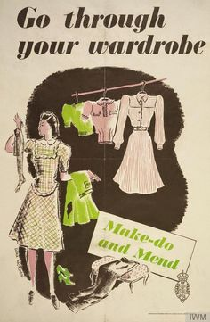 Pattern Patter : World War II Homefront Fashions
