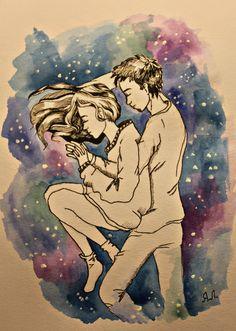 любовь#космос#мои#рисульки