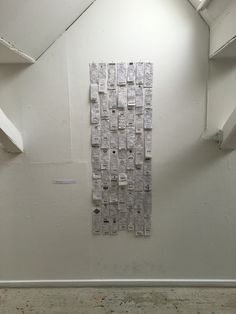 Titel: value Description: Handwritten receipts - on paper produced from old receipts.