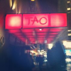 Tao in NYC