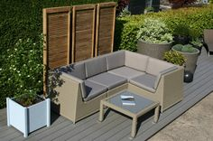 Contemporary garden furniture for modern outdoor spaces. We combine natural materials & modern fabrics to create furniture that is beautiful & comfortable. Contemporary Garden Furniture, Contemporary Garden Design, Outdoor Spaces, Outdoor Sofas, Outdoor Decor, Wooden Tool Boxes, Flower Landscape, Garden Sofa, Beautiful Landscapes