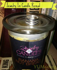 Jewelry In Candles Banana Nut Bread Reveal