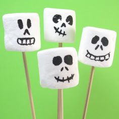 marshmallow skellies | The Decorated Cookie