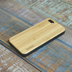 SALE Real WOOD iPhone 5 5S case Renewable Bamboo Phone Wooden Cover Free Shipping in the US - CBB5