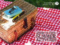 Over 100 Cheap to FREE Summer Activities! Enjoy summer without leaving town! #staycation howdoesshe.com
