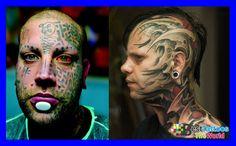 Amazing Face Tattoos Designs For Mens, Facial Face Tattoos, Amazing, Face, Tatto. Face Tattoos For Women, Best Tattoo Shops, Piercing Studio, Facial Piercings, Amazing, Best Face Products, Cool Tattoos, Tattoo Designs, Mens Facial