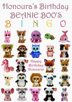 Hayley's Paper Garden: It's a Beanie Boo Thing!
