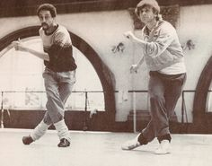Mikhail Baryshnikov and Gregory Hines- White nights