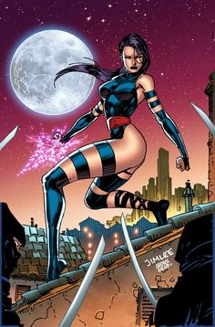 Psylocke by Jim Lee