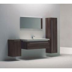 10 astuces pour agrandir visuellement une petite salle de bain: meubles suspendus