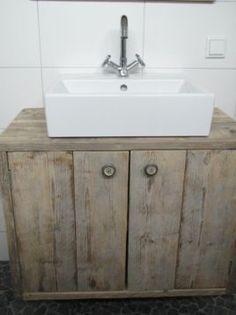steigerhout badkamer - Google zoeken