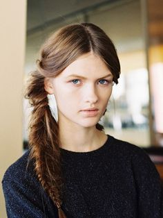 Vanessa Jackman: New York Fashion Week SS 2013...Backstage at Tory Burch