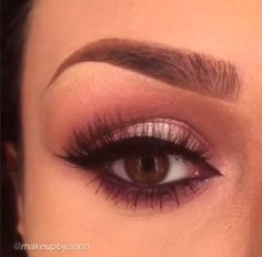 Total perfection! Love this by ✨@MakeupByAnna✨ completed with Flutter® Lashes in #Cami