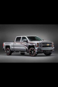 Lifted 2014 Chevrolet Silverado Truck with nice wheels https://twitter.com/_LiftedTrucks_/status/398304076900753408/photo/1