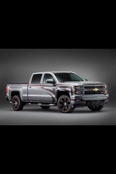 Lifted 2014 Chevrolet Silverado Truck with nice wheels https://twitter.com/_LiftedTrucks_/status/398304076900753408/photo/1