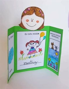 Álbum - Minha História | Projeto Identidade Educação Montessori Activities, Science Activities, Activities For Kids, 1st Day Of School, Pre School, Children's Day Craft, Student Of The Week, Rules For Kids, English Worksheets For Kids