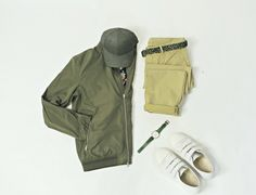 Jacket: J. Lindeberg Shirt: J. Lindeberg Cap: Varsity (Our favorite local caps from Oslo.) –> Shop! Chinos: J. Lindeberg Belt: J. Lindeberg Sneakers: A.P.C. Watch: Knut Gadd