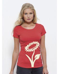 Vlower Shirt // vegan & fair aus Bio-Baumwolle Vegan Fashion, Ethical Fashion, Vegan Shopping, Vegan Clothing, Longsleeve, Vegan Lifestyle, Style Inspiration, T Shirts For Women, Tops