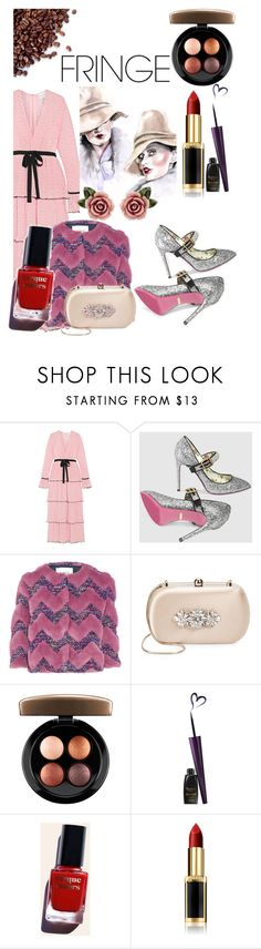 """Untitled #208"" by santyfebrina-nasution on Polyvore featuring Alice McCall, Gucci, AINEA, Badgley Mischka, MAC Cosmetics, Cirque Colors, L'Oréal Paris and Dolce&Gabbana"