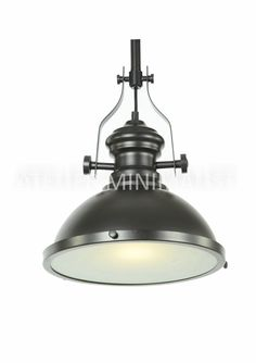 Benson Pendant - Extra Wide Color: Black Material: Matte Metal Pendant size: Diameter: Height: Save off with the purchase of Bulb not Bulb, Ceiling Lights, Rustic, Lighting, Metal, Home Decor, Country Primitive, Decoration Home, Rustic Feel