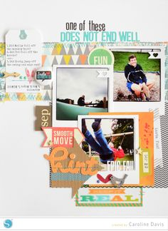 (image) Does Not End Well: a scrapbook layout