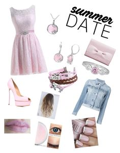 """""""summer date drive in"""" by daisydurnell on Polyvore featuring Casadei, 3x1, Zodaca, Amour, DateNight, drivein and summerdate"""