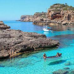 Cala Santanyi Mallorca, Spain photo by: @thiago.lopez #EarthVisuals