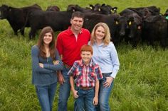 Meet a modern hog and cattle farmer and mom from Missouri, Chris Chinn #WomenInAg