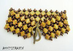 Seed bead jewelry Simply Silky Bracelet by Akke Jonkhof. free PDF ~ Seed Bead Tutorials Discovred by : Linda Linebaugh O Beads, Beads Jewelry, Seed Bead Bracelets, Jewelery, Seed Bead Tutorials, Beading Tutorials, Beading Patterns Free, Free Pattern, Bead Patterns