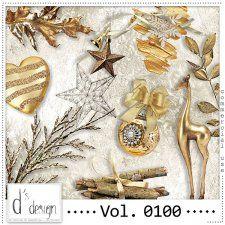 Vol. 0100 - Christmas Mix  by Doudou's Design  cudigitals.com cu commercial scrap scrapbook digital graphics#digitalscrapbooking #photoshop #digiscrap