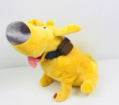 Disney Store Movie UP Doug Dug Dog Pixar Talking Big Sound Plush Stuffed Animal  | eBay