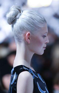 A model walks the ru