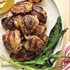 LEBANESE RECIPES: Zaatar and Lemon Grilled Chicken Recipe