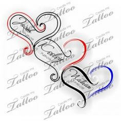 Birthstone Tattoos Ideas | Tattoo With Children's Names | Names #31373 | Createmytattoo.com ...