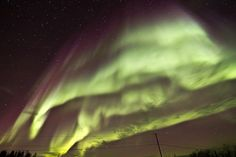 Northern Lights - Yellowknife, Northwest Territories, Canada