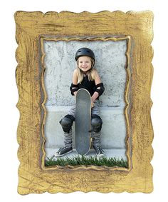 Look at this Gold Arabian Edge Frame on #zulily today!