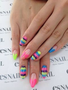 Love the shape of these nails!