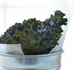 Kale Chips with Siracha & Lime