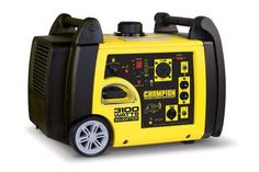 Champion Power Equipment Inverter Gasoline Portable Generator at Lowe's. The Champion Power Equipment portable inverter generator is the perfect combination of versatility and convenience. A quiet and Portable Inverter Generator, Champion, Power Generator, Camping Generator, Diy Generator, Solar Charger, 4k Hd, Solar Energy, Solar Power