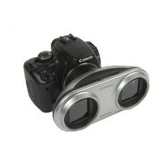 3D Lens for Canon Digital Camera plus 3-3D Viewers - COOL! $184.95